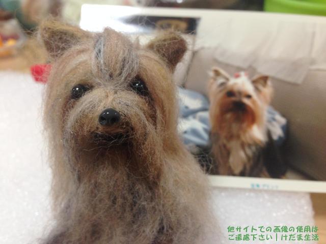 羊毛フェルトで亡くなった犬をリアルに再現してみた【作品集】